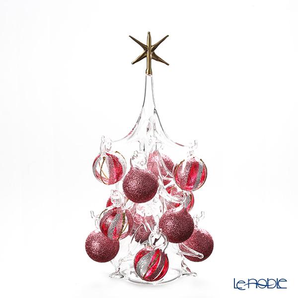 パリーゼ クリスマスツリー M H22cm NN/4/1(285) レッド系&シルバー