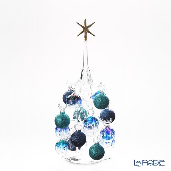 パリーゼ クリスマスツリー L H32cm NN/2/1(289) ターコイズ&ブルー