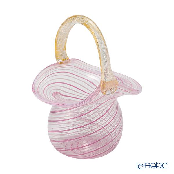 カンパネラ スモールバスケット ピンク(40 V03/A)
