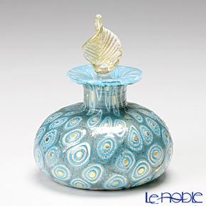 カンパネラ 香水瓶 平型フィオーリターコイズ(97 B01/E)