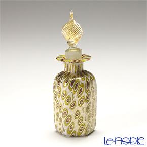 カンパネラ 香水瓶 六角型ホワイトフィオーリ(100 B01/E)