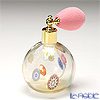 Campanella 'Simple Millefiori / Thousand Flowers' Multicolor & Gold Foil Atomizer Round Ball Perfume Bottle