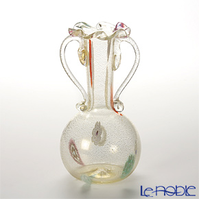 カンパネラ 63 V07/Dベース(花瓶) ダブルハンドル(S) フィオーリゴールド