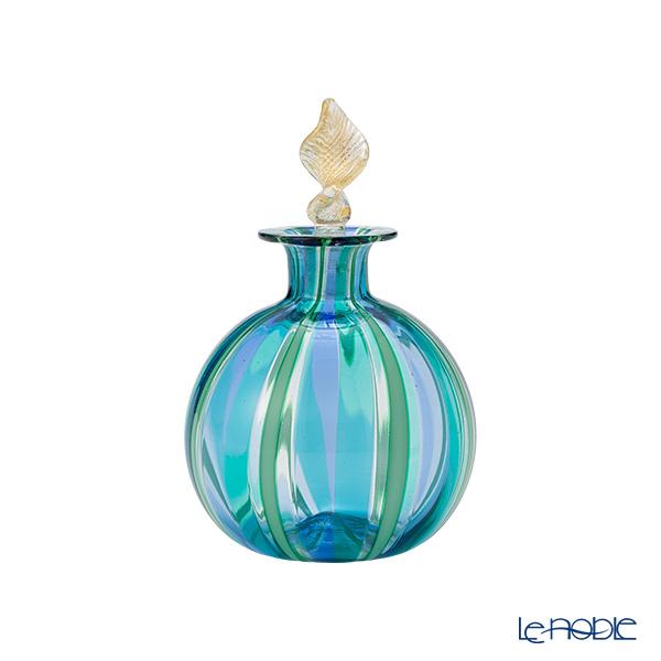 カンパネラ 香水瓶(S) ラウンド型ブルー×ライトブルー(25 B02/B)