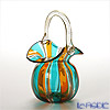Campanella's small basket Yellow x blue ( 47 V08/B