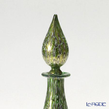 Campanella Lidded bottle Mosaic green ( 129 B12/E