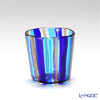 Campanella 'Stripe' Cobalt Blue / Light Blue / Bronze OF Tumbler (S)