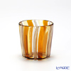 Campanella 'Stripe' Orange / Yellow / Bronze OF Tumbler (S)