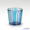Campanella 'Stripe' Blue / Light Blue / Bronze OF Tumbler (S)