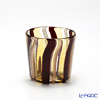 Campanella 'Stripe' Yellow / Brown / Bronze OF Tumbler (S)