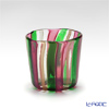 Campanella 'Stripe' Green / Ruby Red / Bronze OF Tumbler (S)