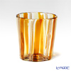 Campanella 'Stripe' Orange / Yellow / Bronze OF Tumbler (L)