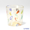 Campanella 'Simple Millefiori / Thousand Flowers' Multicolor & Gold Foil OF Tumbler (L)