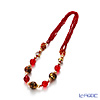 Classic Venetian necklace CO1392 Red