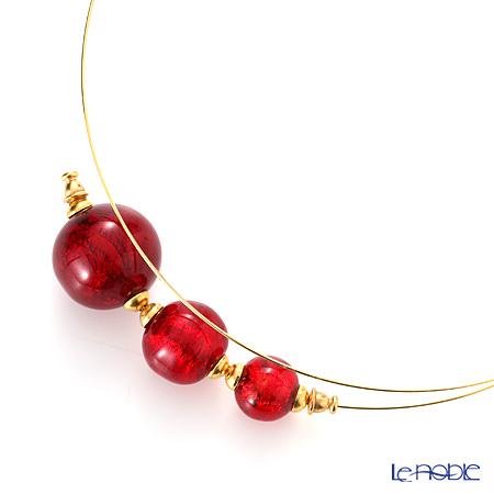 Primofiore / Venetian Glass 'CR218' Red Choker 60ml