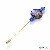 Venetian pin (L) chalcedony Blue