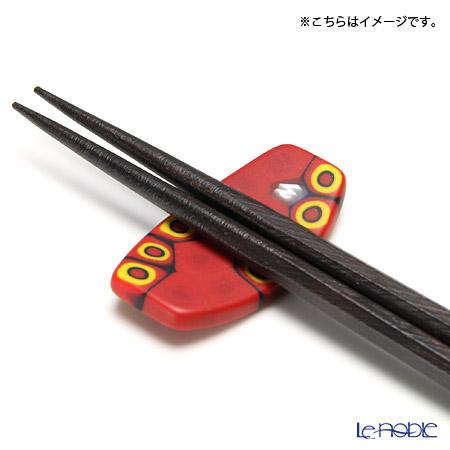 エルコーレモレッティ 箸置き chopstick restレッド×オレンジセル(151R)