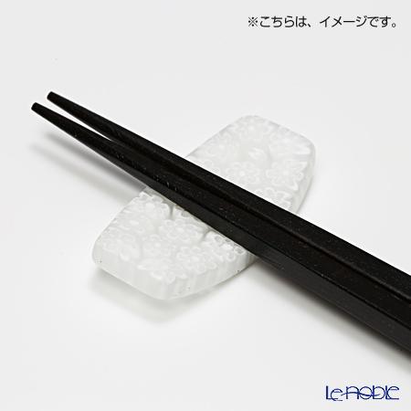 Ercole moretti & f.lli chopstick rest chopstick rest Flower / white (46)