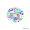 Ercole Moretti 'Millefiori / Thousand Flowers' Pastel Color Mix Mini Plate 6.5cm