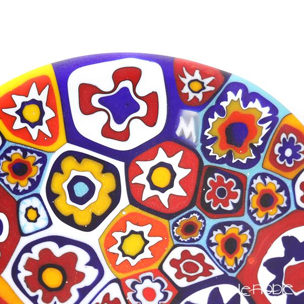 Ercole Moretti 'Millefiori / Thousand Flowers' Primary Color Mix Mini Plate 6.5cm