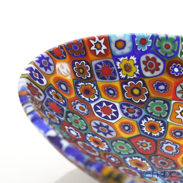 Ercole Moretti 'Millefiori / Thousand Flowers' Primary Color Mix Oval Plate 10.8x7.5cm