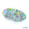 Ercole Moretti 'Millefiori / Thousand Flowers' Pastel Color Mix Oval Dish 16x10cm