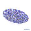 Ercole Moretti 'Millefiori / Thousand Flowers' Blue Mix Oval Dish 16x10cm