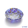 Ercole Moretti 'Millefiori / Thousand Flowers' Blue Mix Small Round Plate 8cm