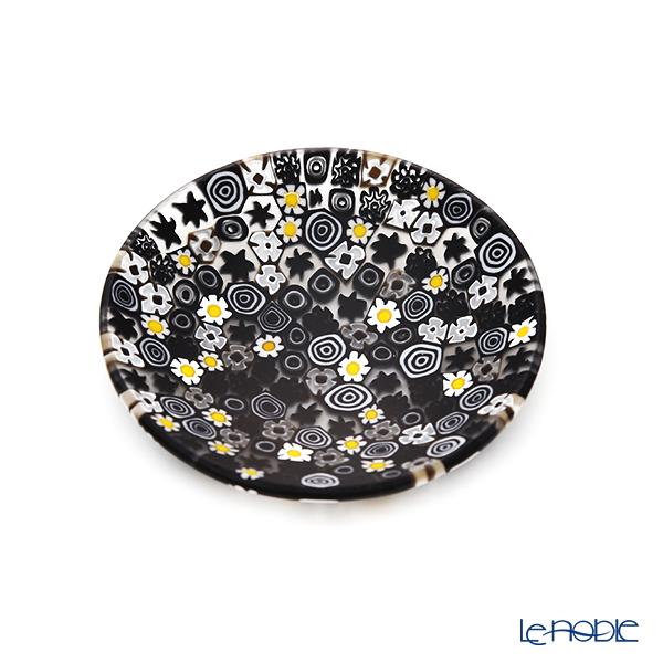 エルコーレモレッティ ミレフィオーリ プレート 8cmモノトーン × カモミール(215)豆皿