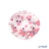 Ercole Moretti 'Millefiori / Thousand Flowers' Pink x White Plate 8cm