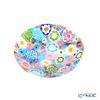 Ercole Moretti 'Millefiori / Thousand Flowers - Spring' Pastel Color Mix Plate Dish 13.5cm