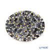 エルコーレモレッティ ミレフィオーリ フラットプレート 13cmモノトーン × カモミール(215)小皿