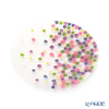 Ercole Moretti 'Millefiori / Thousand Flowers - Spring Breeze' Pastel Color Mix Plate 12.5cm