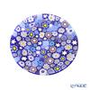 Ercole Moretti 'Millefiori / Thousand Flowers - Spring' Blue Plate 12.5cm