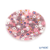 Ercole Moretti 'Millefiori / Thousand Flowers - Spring' Pink Plate 12.5cm