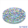 Ercole Moretti 'Millefiori / Thousand Flowers' Pastel Color Mix Round Plate 19cm