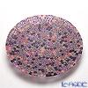ercole moretti & f.lli 19 cm plate pink (214) Pink (214)