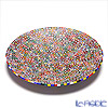 Ercole Moretti 'Millefiori / Thousand Flowers' Primary Color Mix Round Plate 24cm