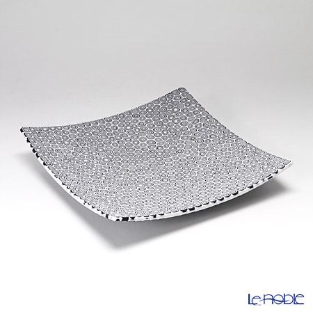 エルコーレモレッティ ミレフィオーリ プレート 18×18cm ネンリン/ホワイト(6)