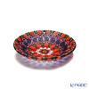 ercole moretti & f.lli 8 cm plate Ancient Roman mosaic red series