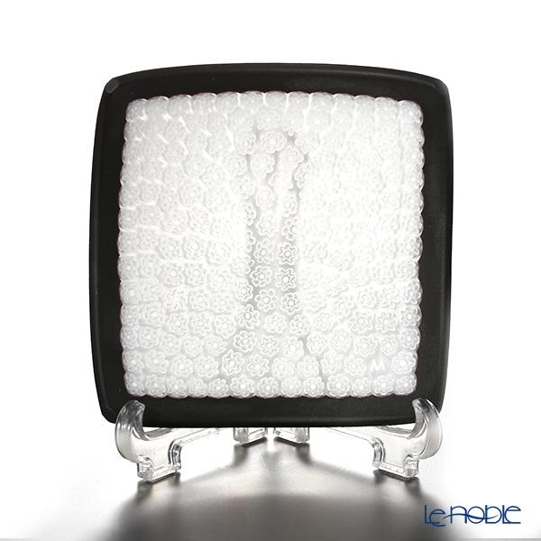 エルコーレモレッティ ミレフィオーリ スモールボウル 8×8cmホワイト(46) ブラックフレーム