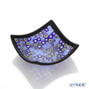 Ercole Moretti Mirafiori small bowl Blue Series 212 black frame 8 x 8 cm