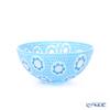Ercole Moretti 'Millefiori / Thousand Flowers - Sakura' Light Blue Bowl 14cm