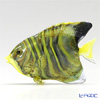 Vittorio Costantini 'Glass Art' Yellow-Black-Stripe Butterfly Fish 6.5cm