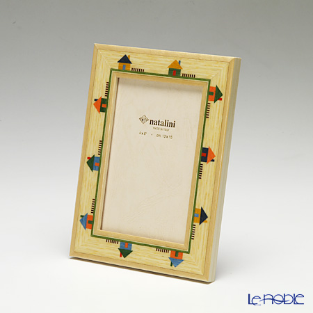 Natalini 'Imaginations' House Italian Marquetry Picture Frame