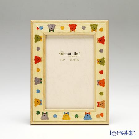 ナタリーニ 象嵌フォトフレーム 10×15cmImaginations くま