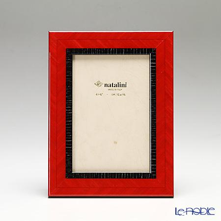 ナタリーニ 象嵌フォトフレーム 10×15cmSchiera 外赤