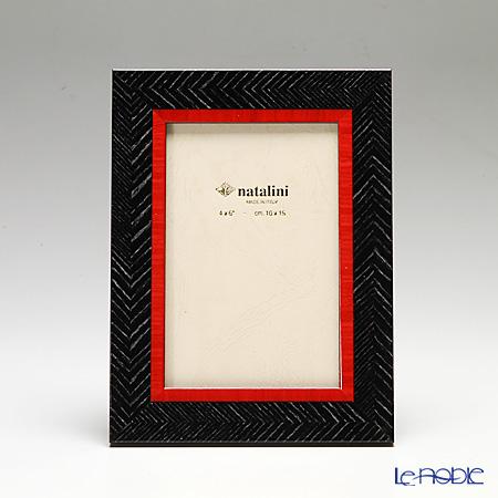 ナタリーニ 象嵌フォトフレーム 10×15cmSchiera 外黒
