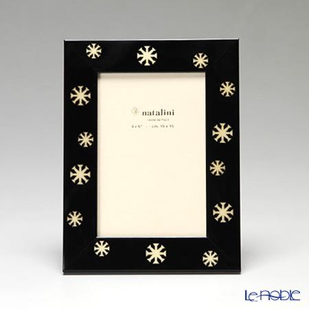 ナタリーニ 象嵌フォトフレーム 10×15cmLE 4 STAGIONI スノー