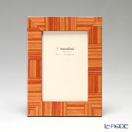 ナタリーニ 象嵌フォトフレーム 10×15cmDOMINA 木目ナチュラル